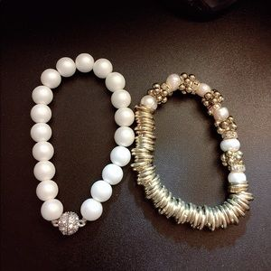 Two bracelets for one price/ Pearl bead